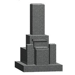 墓石芝台付き(神戸型)