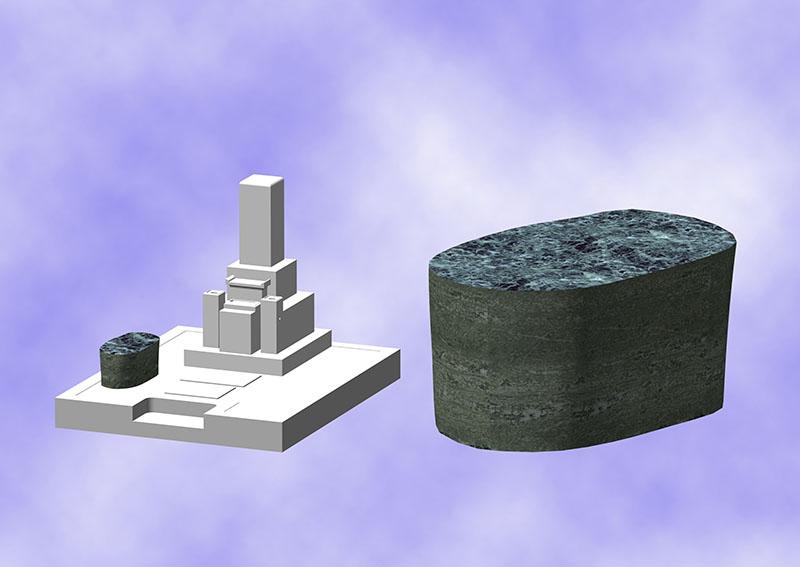物置台(自然石)