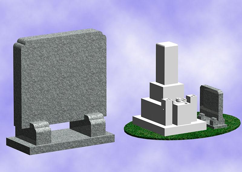 霊標(墓誌)一般型